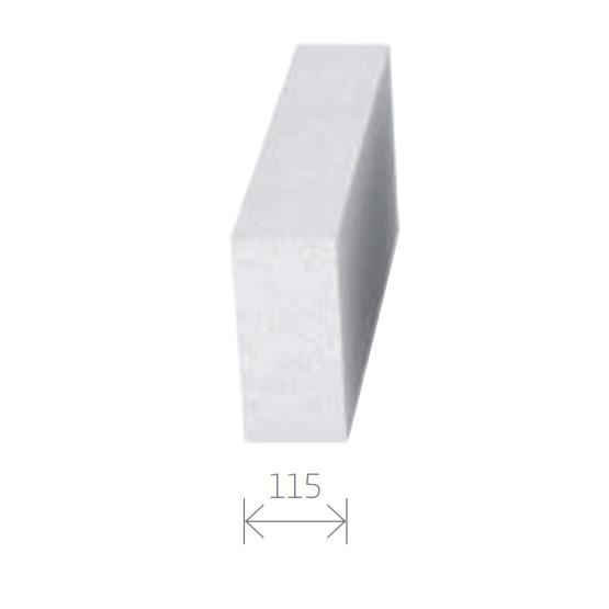 Gasbetonstein - Porenbetonstein 115mm Breite