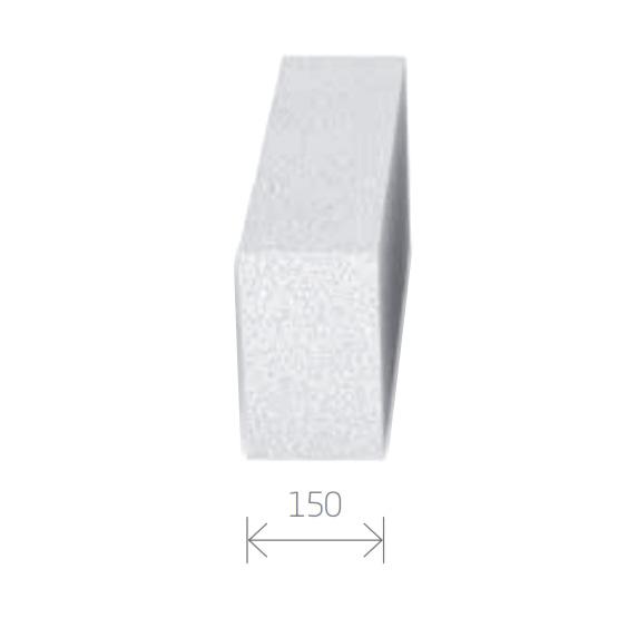 Gasbetonstein - Porenbetonstein 150mm Breite