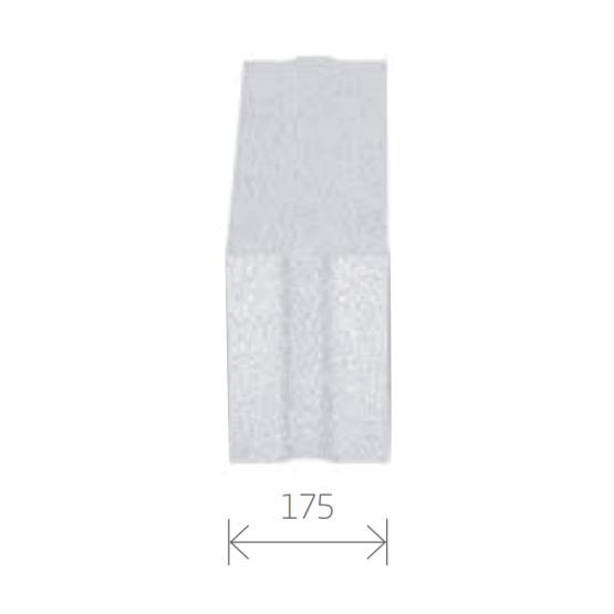 Gasbetonstein - Porenbetonstein 175mm Breite