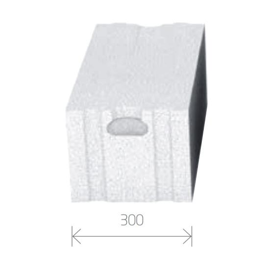 Gasbetonstein - Porenbetonstein 300mm Breite